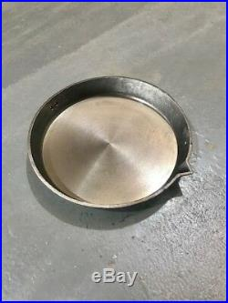 "Chitty Pots Shamrock 16/"" Solid Cast Iron Swing Skillet Romany Gypsy Frying Pan"