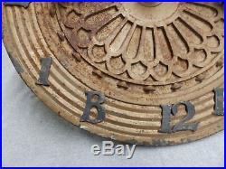 19 Antique Cast Iron Elevator Floor Indicator Dial Brass Numbers Arrow 535-16