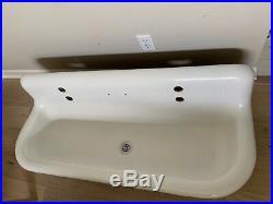 48 inch vintage Kohler cast iron farmhouse sink