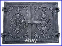 48 x 32 Cast Iron Fire Door Clay Bread Oven Pizza Stove Best Quality
