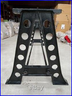 A-Frame Cast Iron table Legs industrial steampunk vintage dining table base