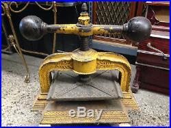 Antique (1800s) Cast Iron Book Press, Very Ornate