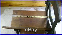 Antique ALEXANDERWERK Bread Slicer Cutter Cast-iron Cutting Machine Green