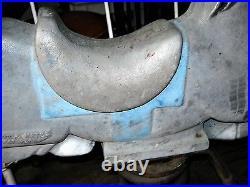 Antique Aluminum Donkey Playground Spring Ride On Toy Cast Iron USA Farm Animal