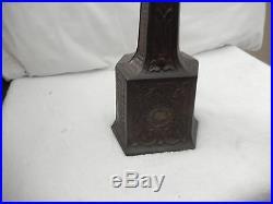 Antique CAST IRON SALOON SHOOFLY FLY FAN Ornate Clock Work Wind Up Mechanism