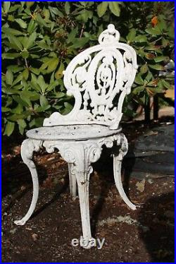 Antique Cast Iron English Lawn Chairs Circa 1880 FREE DELIVERY IN OREGON ONLY