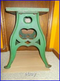 Antique Cast Iron Industrial Table Legs Steel Table Blacksmith Bench Table