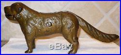 Antique Cast Iron Mechanical Dog Nutcracker