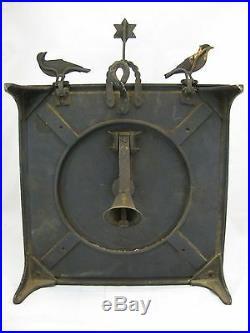Antique Cast Iron Parlor Shooting Target Victorian Era Target