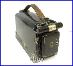 Antique Cast Iron Portable Explosive Detonator Trench Cave Mine Blasting See