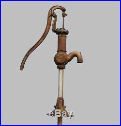 Antique Farm Dempster Windmill Co Beatrice NE Hand Water Well Cast Pump