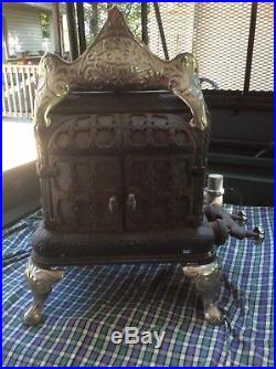 Antique Griswold Cast Iron Parlor Stove Very Rare