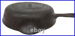Antique Griswold No. 2 Cast Iron Skillet Pan 703 Large Block Logo Smooth Bottom