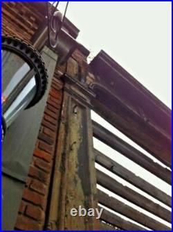 Antique Industrial Revolution Era Cast Iron Storefront, 1868 Pullis & Bro, 25'W