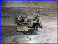 Antique Little Comfort Chain Drive Child's Toy cast iron Sewing Machine