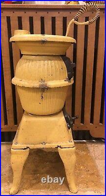 Antique Pot Belly Stove-Cast Iron-209 Magic Armstrong-Perryville Maryland-Rare