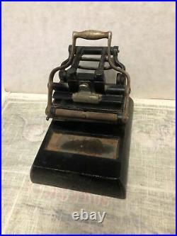 Antique Small Cast Iron Printing Press