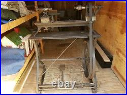 Antique Treadle Cast Iron Lathe