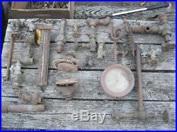 Antique Vintage Cast Iron Vertical Live Steam Engine (ala African Queen)