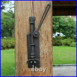 Antique Wine Bottle Opener Vintage Wall Mounted Home Bar Decoration Accessories