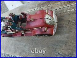 Arcade Hubley Kenton Antique Cast Iron Vintage Toy 6 Man Fire Pumper Truck