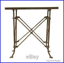 Bronze Fnsh Rectangular Medium Table w British East India Trading Antique Style
