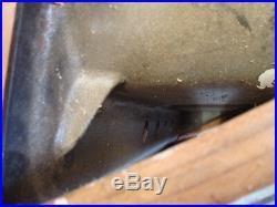 Cast Iron Antique Kitchen Sink In Wooden Crate (nos)