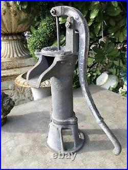 Cast Iron Vintage Style Water Pump Working water pump