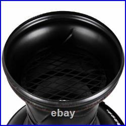 Chimenea Fire Pit Cast Iron Steel Chiminea Patio Heater Chimnea BBQ Grill