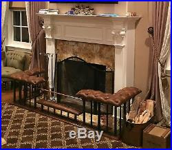 Club Fender Fireplace Bench Late Georgian design. Welded construction