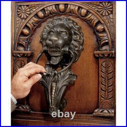 Design Toscano Grande Florentine Lion Authentic Foundry Iron Door Knocker