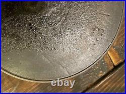 ERIE Cast iron spider #8 skillet