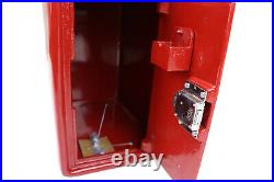ER Post Box Postbox Letter Box Cast Iron Royal Mail Pillar Red Large