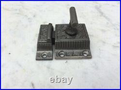 EastLake Cast Iron T/Bar Cupboard Cabinet Lock/Latch