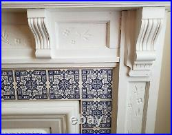 Fireplace Mantel, Vintage, Cast Iron Face