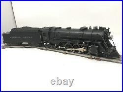 First Lionel Baldwin 1946 Atomic Steam Locomotive Tender 2-8-4 #726 Berkshire O