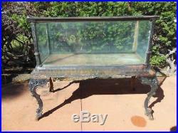 Fiske Cast Iron Antique Aquarium or Fish Tank