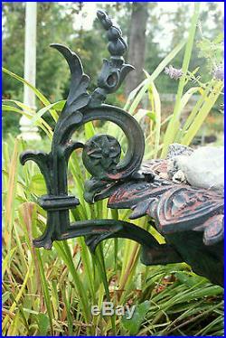 Garden Urn, planter, cast iron, JW Fiske, NYC, Rococo Victorian, c1875, 32w