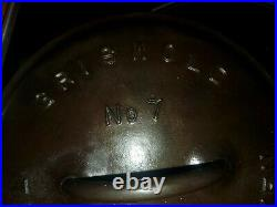 Griswold No. 7 Cast Iron Tite-Top Dutch Oven 2603 and Lid A 2604 With205 Trivet