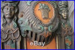 Heywood Wakefield Cast Iron Art Deco Theater Seat End Pieces Torrington Wyoming