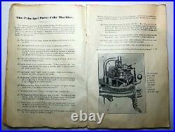 Imperia Triplex Vintage Circular Sock Knitting Machine antique cast iron