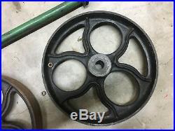 Industrial Cart/Metal Components Cast Iron & Steel Antique