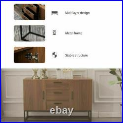Kitchen Storage Cabinet Buffet Server Table Sideboard Dining Room with Drawer Door