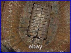 Late 1800's Victorian Pot Belly Cast Iron WOOD Stove #22 ManCave Parlor Potbelly