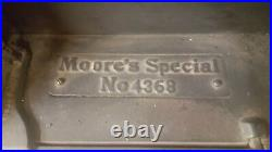 Moore Brothers Antique cast iron stove