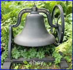 No. 24 Antique Church School Garden Cast Iron Bell