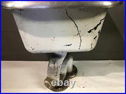 OLD American Standard Cast Iron Sink Slop Farm Garage Industrial Service Station