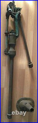 Old Vtg Antique Myers & Bro 1593 Cast Iron 1888 Hand Water Well Pump Cistern