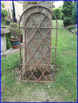 Original Antique Cast iron church window