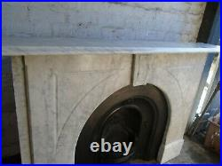 Original Marble Fire Surround for Cast Iron Fireplace